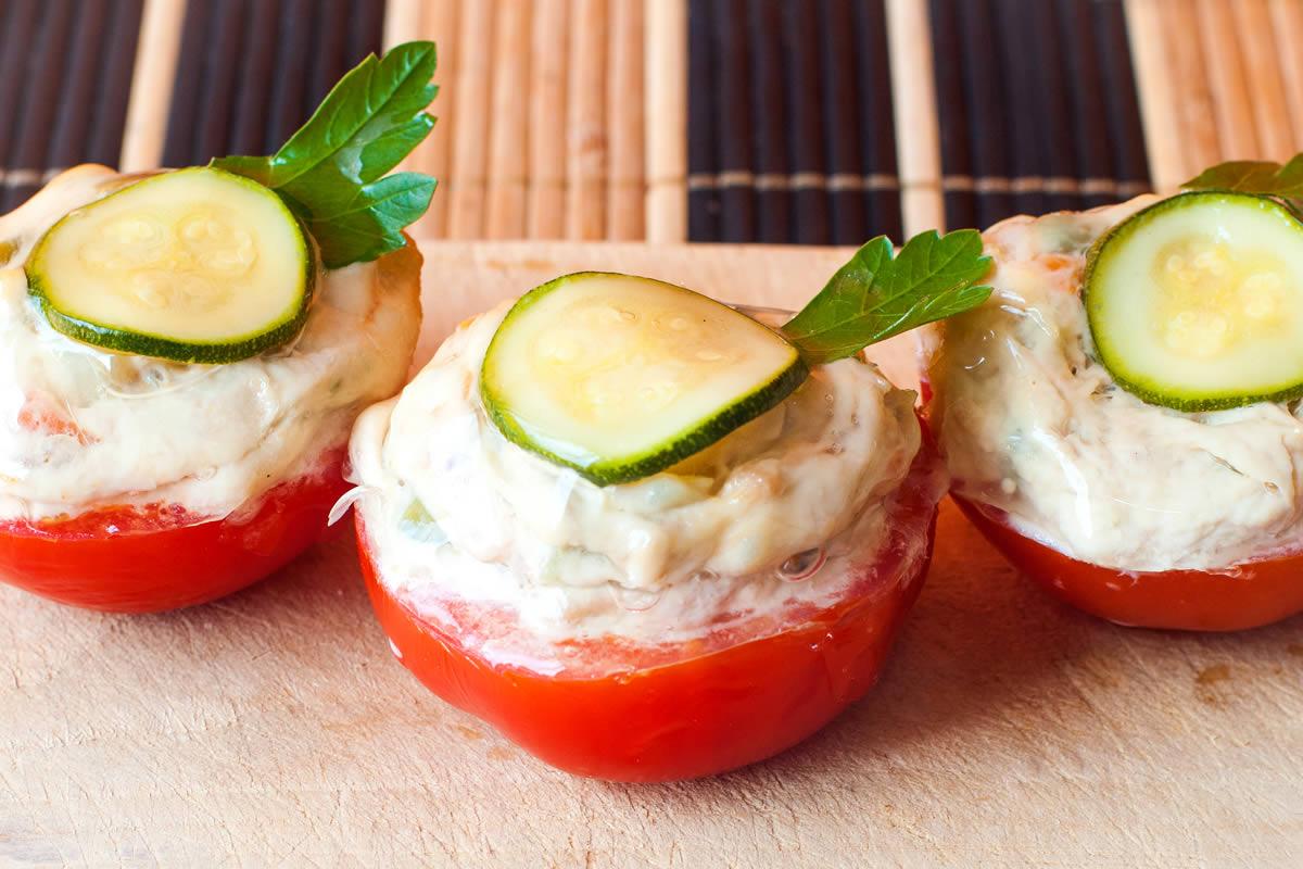 Gastronomia Il Vege Romagnano e Borgomanero - Pomodori Ripieni con zucchine